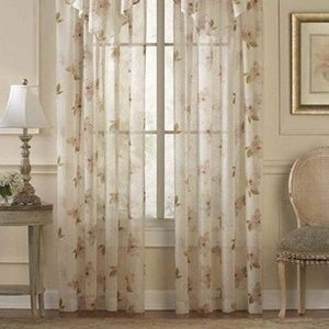 Waterlilly Sheer Curtain Panel